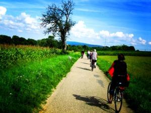 Fahrradtour lomografiert
